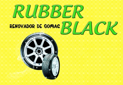RUBBER BLACK